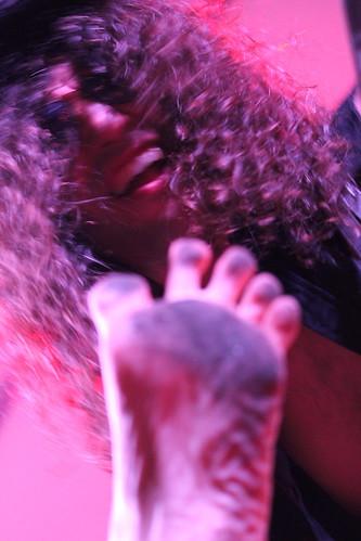 Present feet