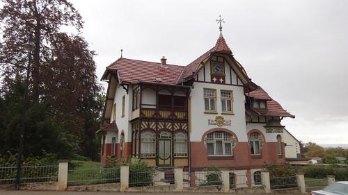 1904 Bleicherode Villa in Jugendstil Burgstraße 3 in 99752
