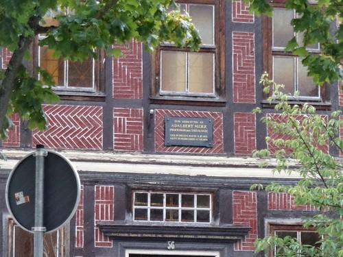Bleicherode Gedenktafel Universalgelehrter und Polyglot Prof. Adalbert Merx (1838-1909) geboren Hauptstraße 56 in 99752