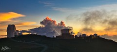 Sunset over Haleakala