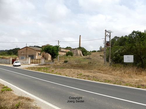 ES-07510 Sineu Minas de Carbo de Mallorca/Kohlebergwerke auf Mallorca Mina Finca del Fangar - Son Vallfoge (Endesa Llacuna de Sineu) im Juli 2016