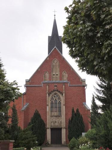 1907/08 Bleicherode neogotische katholische Kirche St. Matthias Burgstraße 59 in 99752