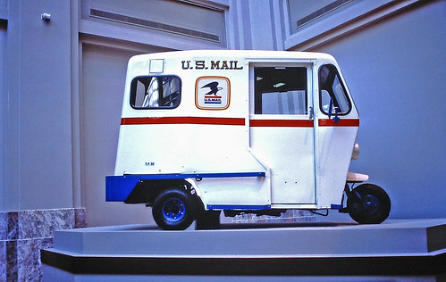 Mail Truck, Post Office Museum, Washington, D.C.