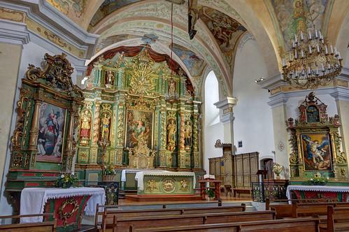 Cordon (Haute-Savoie) : église Notre-Dame-de-l'Assomption