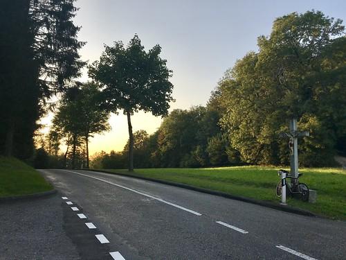 Commuting detour ...