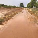 Inundación de las lagunas de La Guardia (Toledo) 15-9-2019
