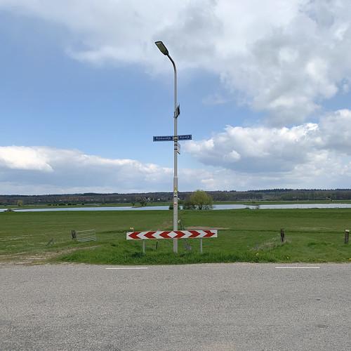 Rijnbandijk en Rijndijk bij Lienden
