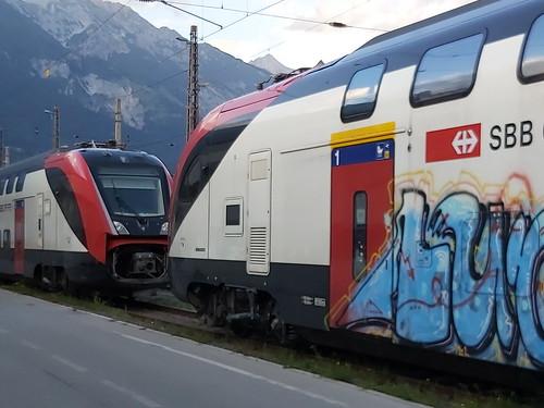 SBB Twindexx wieder in Innsbruck (2 Züge)