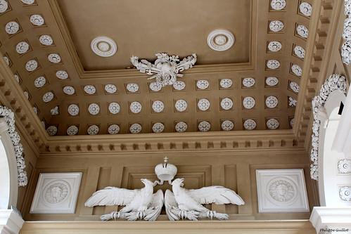 Schönbrunn : plafond de la Gloriette