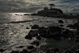 Battery Point Light Lighthouse in Crescent City, California