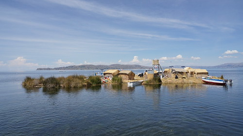 Reed Island from Lake Titicaca