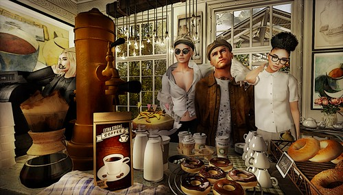 Scott's Coffee Shop Bad Dream
