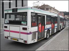 Mercedes-Benz O 405 GN – TPAS (Transports Publics de l'Agglomération Stéphanoise) (Veolia Transport) / STAS (Société de Transports de l'Agglomération Stéphanoise) n°741