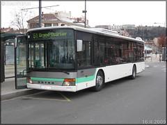 Setra S 315 NF – SRT Autocars / STAS (Société de Transports de l'Agglomération Stéphanoise) n°126