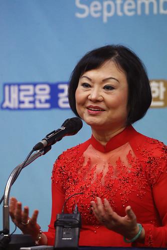 판티 킴 푹(PHAN THI Kim Phuc) 여사 기자회견