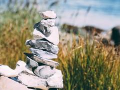 Beach Stones Bokeh | 2. September 2019 | Fehmarn - Schleswig-Holstein - Deutschland