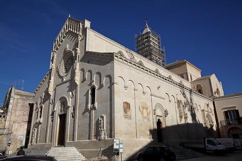 Basilica Pontificia-Cattedrale di Maria Santissima della Bruna e Sant'Eustachio / Matera Cathedral. Matera. Italia. IMG_2698