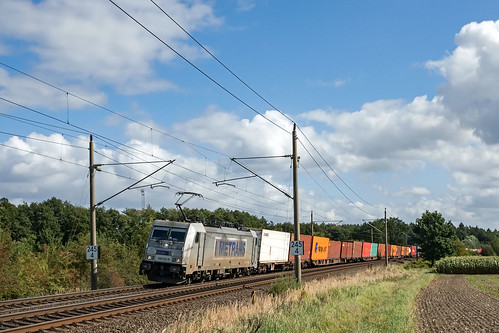 Muessen Feldweg Metrans 386 012-9 Container