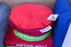 Pets&Joy Haustierbett in grün und rot