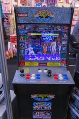 Street Fighter 2 Spieleautomat in der Champion Edition