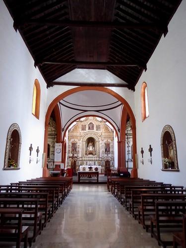 Guimar (Tenerife-España). Iglesia del Ex convento de Santo Domingo. Interior