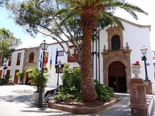 Guimar (Tenerife-España). Ex convento de Santo Domingo (Actual Ayuntamiento)