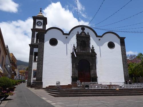 Guimar (Tenerife-España). Iglesia de San Pedro