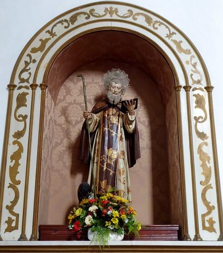 Guimar (Tenerife-España). Iglesia del Ex convento de Santo Domingo. San Antón