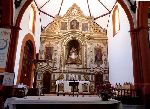 Guimar (Tenerife-España). Iglesia del Ex convento de Santo Domingo. Retablo Mayor