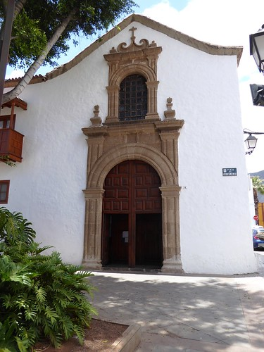Guimar (Tenerife-España). Iglesia del Ex convento de Santo Domingo. Fachada