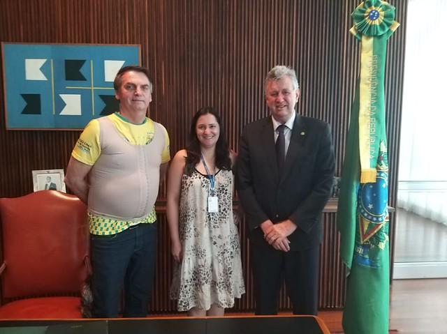 19/09/2019 Reunião com Presidente Jair Messias Bolsonaro
