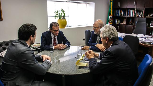 19/09/2019 Visita Cortesia Gen. Guido Manini Rios, candidato à Presidência da República do Uruguai