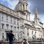 Piazza Navona a Roma - https://www.flickr.com/people/78644973@N05/