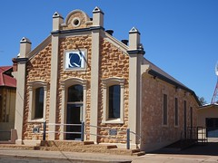Port Augusta. The former Freemason Lodge built in 1907. It is now Quinn funeral chapel.