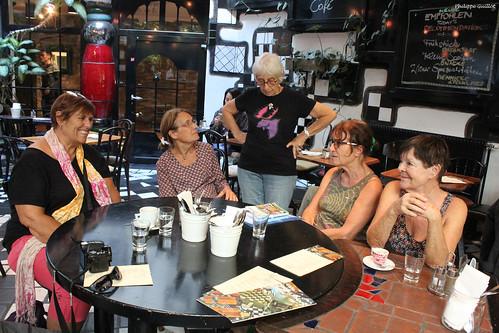 Au café Kunst Haus
