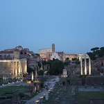 Roman Forum at night (3) - https://www.flickr.com/people/43714545@N06/