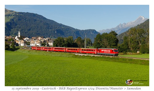 RhB Ge 4/4 III 644 - Castrisch
