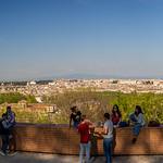panorama del Gianicolo - https://www.flickr.com/people/53407766@N00/
