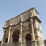 Arch of Constantine, Rome - https://www.flickr.com/people/43714545@N06/