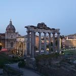 Roman Forum at night (2) - https://www.flickr.com/people/43714545@N06/