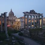 Roman Forum at night (1) - https://www.flickr.com/people/43714545@N06/