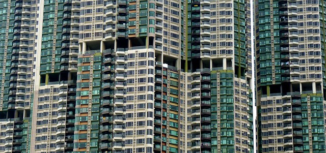 Apartments with Open Spaces (Holes), Hong Kong