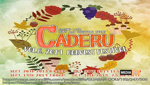 CADERU VOL.8. 2019 HARVEST FESTIVAL EVENT– SEPTEMBER 2019