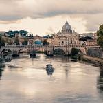 Ponte Sant'Angelo, Rome - Italy - https://www.flickr.com/people/147875252@N02/