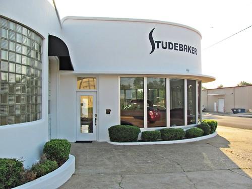 Studebaker Showroom, Mena, Arkansas 4