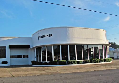 Studebaker Showroom, Mena, Arkansas 1