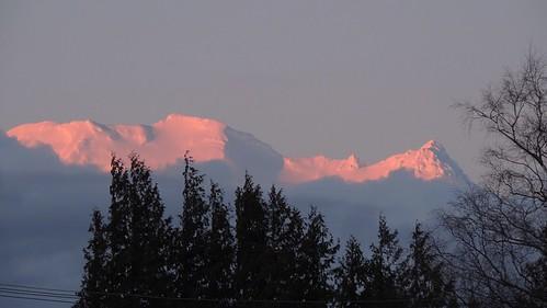 Sunset on Mt Ruapehu