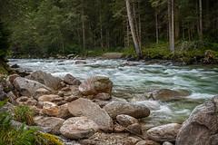 'Krimmler Ache' hinter dem 'Krimmler Wasserfälle' - Salzburg - AT