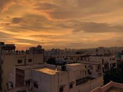 Hyderabad_sunset