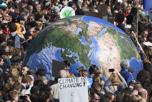 Greve Global pelo Clima mobiliza milhões de pessoas em 150 países